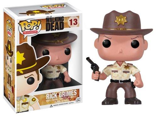 Funko POP Television: Walking Dead-Rick Grimes - 1