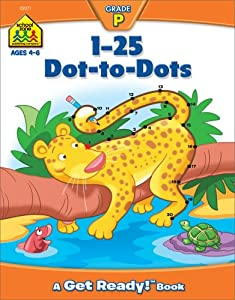 Downloads 1-25 Dot-to-Dots (A Get Ready Book, Ages 4-6) e-book
