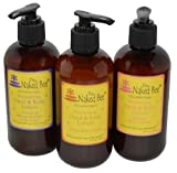 Naked Bee Hand & Body Lotion 8 Oz Variety Pack of 3 The Sweet Pack