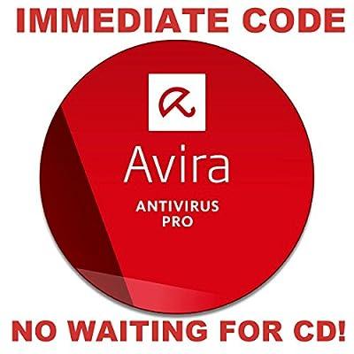 Avira Antivirus Pro (1-PC for 1-Year, IMMEDIATE CODE ISSUED, No Waiting, No-CD) [Download]