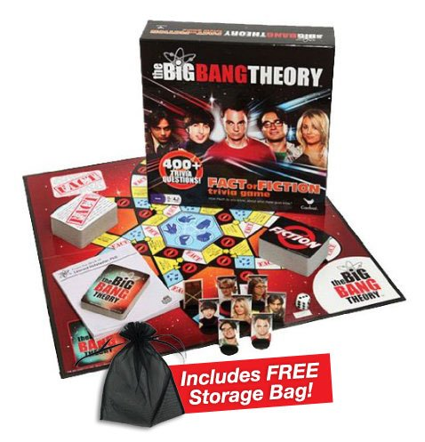 The Big Bang Theory Trivia Game W/free Storage Bag (Trivial Pursuit Party Extra Cards compare prices)