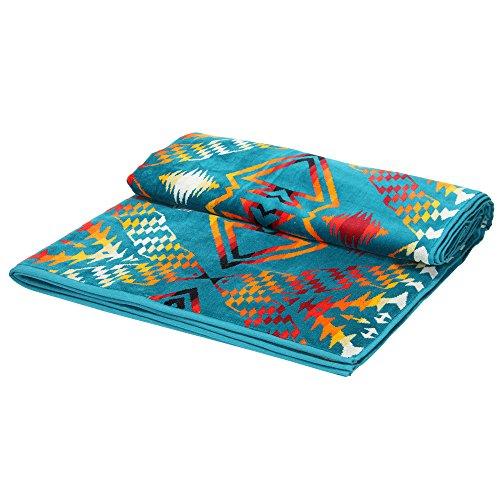 PENDLETON ペンドルトン Oversized Jacquard Towels ジャガードバスタオル Thunder&Earthquakeサンダー&アースクエイク XB233-55058 毛布