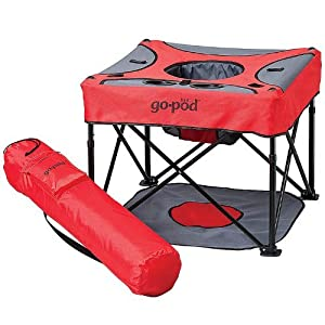 KidCo GoPod Portable Activity Seat - Cardinal