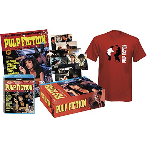 Pulp Fiction - Pack Collector (Blu-Ray + Tshirt + 8 Post cards + Poster) [Blu-ray] (European region B/2)