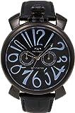 [テクノス]TECHNOS 腕時計 マルチファンクション レザー T4373BB メンズ