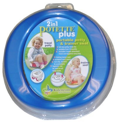 Kalencom 2-in-1 Potette Plus, Blue