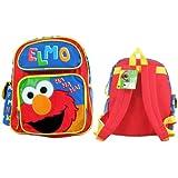 """Sesame Street Elmo Toddler 12"""" Medium Sized School Backpack """"Elmo"""""""