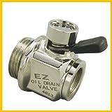 EZ Oil Drain Valve EZ (EZ-3) Silver 20mm-1.5 Thread Size Oil Drain Valve at Sears.com