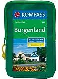 Burgenland 1 : 50 000. Wandern/Rad. 2-teiliges Set mit Naturführer. GPS-genau