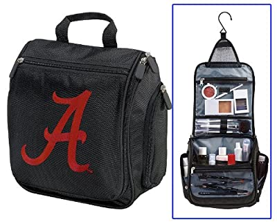 Cheapest University of Alabama Toiletry Bags Or Hanging Alabama Crimson Tide Shaving Kit from Broad Bay - Free Shipping Available