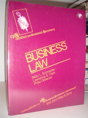 Schroeder Cps Examination Review Series-Module II Business Law: Module 2