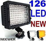 NEEWER® CN-126 LED Video Lighting - Hot Shoe Mounted