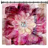 "Gypsy Bohemian Shower Curtain - 69"" X 70"""