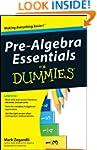 Pre-Algebra Essentials For Dummies