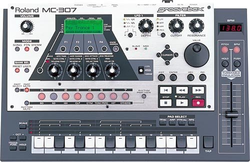 Buy Roland Mc-307 Sequencer Dance Music Machine Groove Box