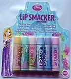 Disney Princess Lip Smacker Shimmers Cinderella, Ariel, Belle, Jasmine, Rapunzel