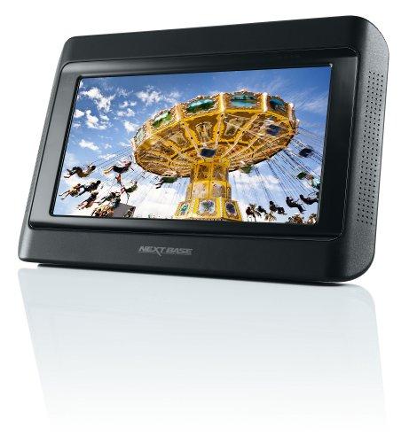 """Nextbase NEXT9LITEUNO Lecteur DVD portable Simple écran 9"""" (21,6 cm) avec Fixation sécurisée DVD/DivX/ JPG/ MP3/ WMA/ MPEG Noir"""