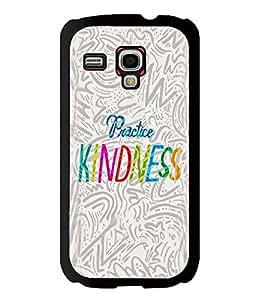 Printvisa 2D Printed Quotes Designer back case cover for Samsung S3 I8190 Mini - D4595