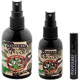 Poo-Pourri 3-piece Bathroom Deodorizer Set Trap-A-Crap:Spicy Blend of Blood Orange