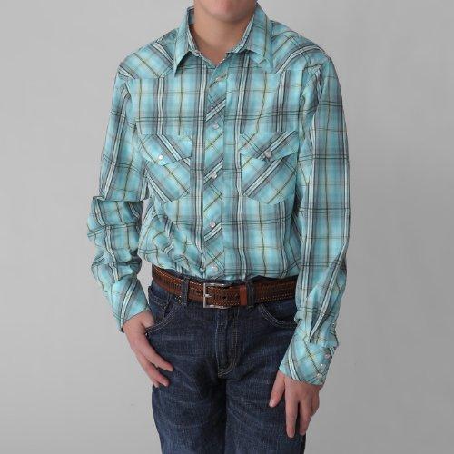 Boston Traveler Boys Plaid Shirt