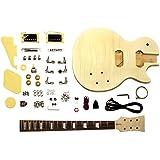GK-SLPP-380 E-Gitarre Bausatz mit geflammter Ahorn Decke