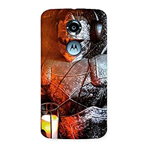 Gorgeous Knight Warrior Multicolor Back Case Cover for Moto X 2nd Gen