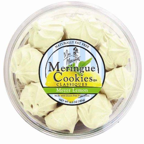 Miss Meringue Classic Meringue Cookies, Meyer Lemon, 6.5-Ounce Container