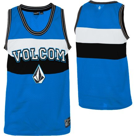 Volcom Kaiser Tank Top - Men's Blue, S