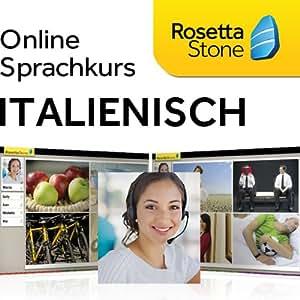Rosetta Stone TOTALe Italienisch, Online Zugriff für 12 Monate