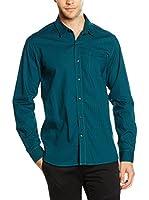 Timberland Camisa Hombre Ls Bear River Plaid (Azul / Verde)