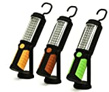Think Tank Technology KC92191 Super Bright 36 LED Work Light with 5 LED Flashlight