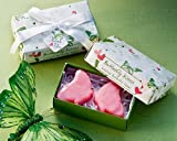 Butterfly Kisses Scented Soaps - Wedding and Bridal Shower Favor Guest Keepsake Gift (BULK BUY SALE) | Protection Necklace