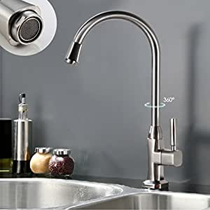 auralum moderne kaltwasserhahn waschtischarmatur kaltwasser armatur wasserhahn sp ltsch. Black Bedroom Furniture Sets. Home Design Ideas
