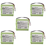 5pc Exell Remote Control Battery