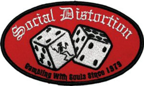 Application Social Distortion Logo Patch