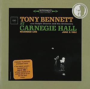 At Carnegie Hall June 9 1962: