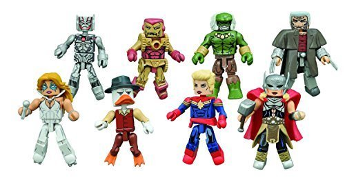 Marvel Minimates Series 64 Secret Wars Set of 4-2packs (Marvel Universe Old Man Logan compare prices)