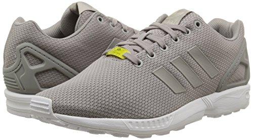 adidas ZX Flux - Zapatillas deportivas para hombre, color plata / blanco, talla 45 1/3 48.86€