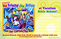 Vacation Bible School 2012 No Friend Like Jesus Outdoor Banner VBS: Get Connected ...