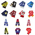 Soccer fans Scarf Real Madrid Barcelona Manchester United Liverpool Juventus Soccer Club Scarves 14 Soccer Clubs