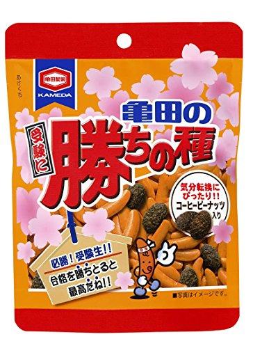 亀田製菓 亀田の受験に勝ちの種 80g×12袋
