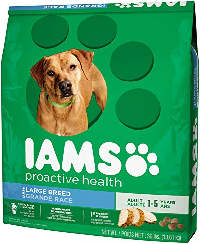 IAMS PROACTIVE HEALTH Large Breed Adult Dry Dog Food 30 Pounds_Image2