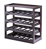 Winsome Wood Kingston Removable Tray Wine Storage Cube
