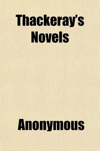 Thackeray's Novels