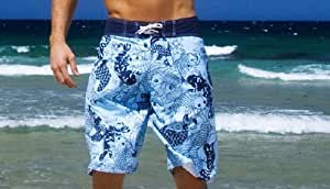 Mens Beach Shorts Designer (Medium)