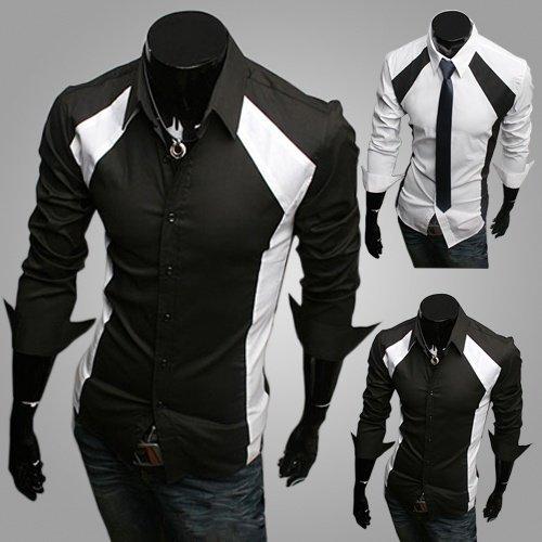 mens-casual-tux-shirtslim-fit-long-sleeve-shirt-by-lenlyr