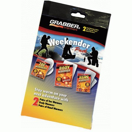 Grabber Hand and Toe Warmers Combo Pack