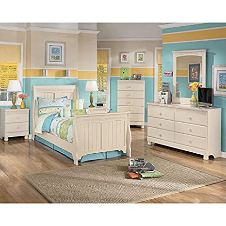 Cottage Retreat Sleigh Bedroom Set Full