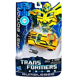 Bumblebee Transformers Prime Deluxe Class Action Figure