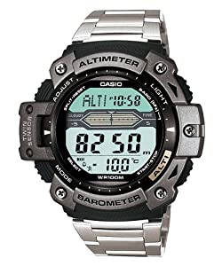 Casio Mens Twin Sensor Altimeter Barometer Sport Watch